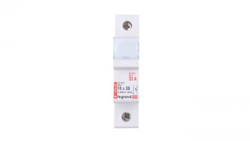 Legrand Rozłącznik bezpiecznikowy cylindryczny 1P 10x38mm RB308 005808