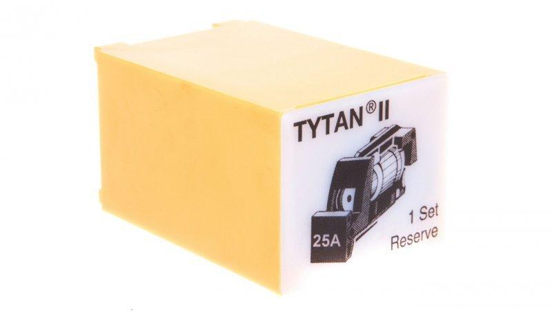 EATON Wtyk bezpiecznikowy D02/gG/25A/400V Z-SLS/E-25A bez sygnalizacji 269009 (3szt.)