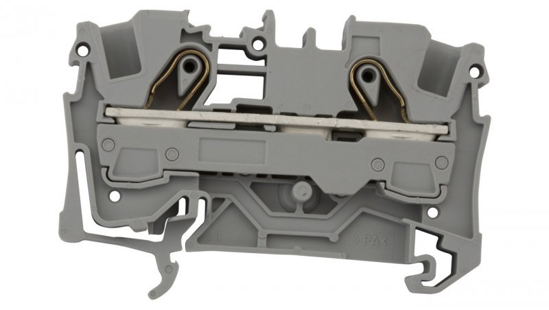 Złączka szynowa 2-przewodowa 6mm2 szara 2006-1201 TOPJOBS