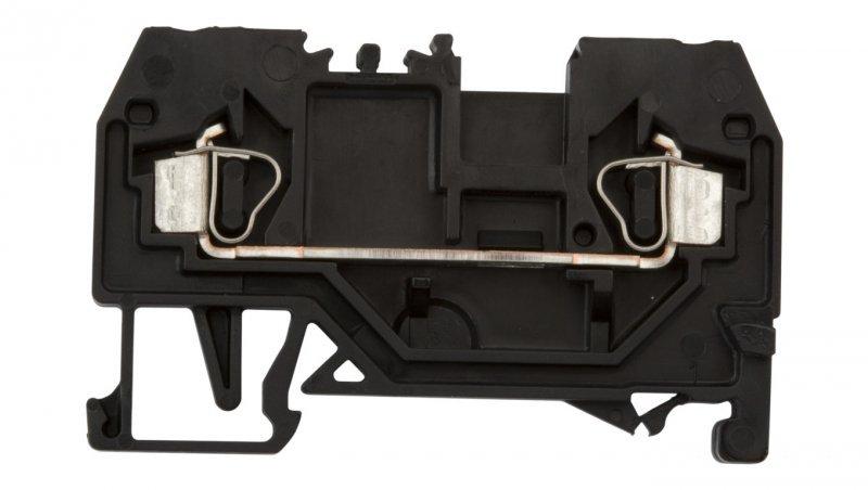 Złączka szynowa 2-przewodowa 2,5mm2 czarna 280-905