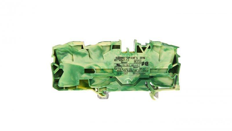 Złączka 3-przewodowa 16mm2 żółto-zielona 2016-1307 TOPJOBS