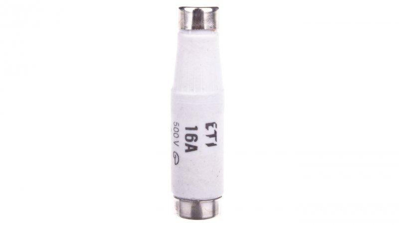 Wkładka bezpiecznikowa 16A DI gG 500V E16 002311405