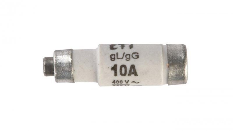 Wkładka bezpiecznikowa D01 10A gG 400V AC/250V DC E14 002211004
