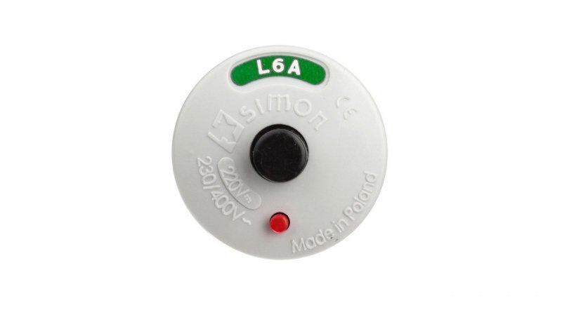 KONTAKT Wyłącznik nadmiarowy wkrętkowy L-6A GHS101 2060 VP0