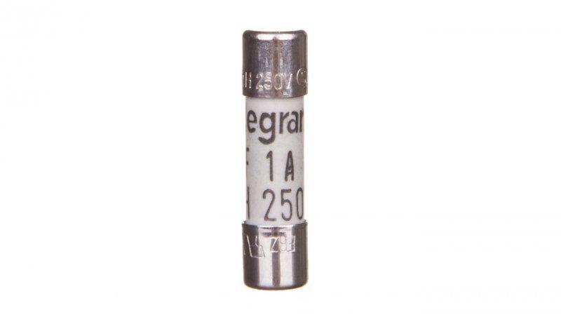 Wkładka bezpiecznikowa cylindryczna 5x20mm 1A F 250V 010210