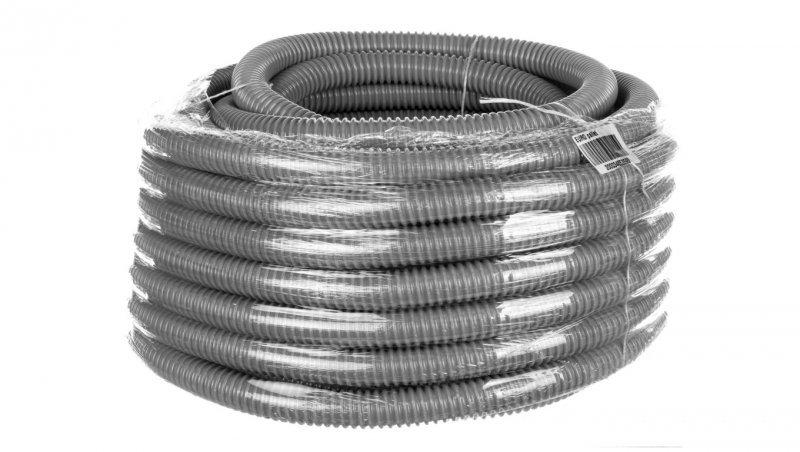 Rura ochronna karbowana PVC SILVYN EL 25x30,5 ciemnoszara 61747400 /30m/