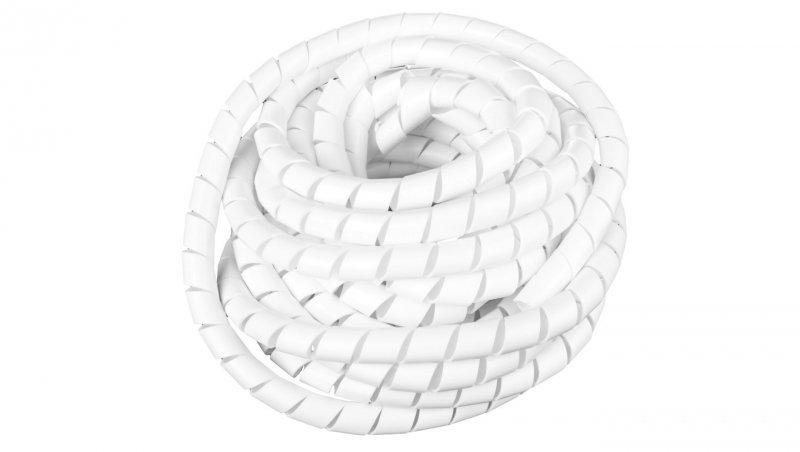 Wężyk ochronny spiralny WSN 24/V2 biały E01WS-01010300800 /10m/