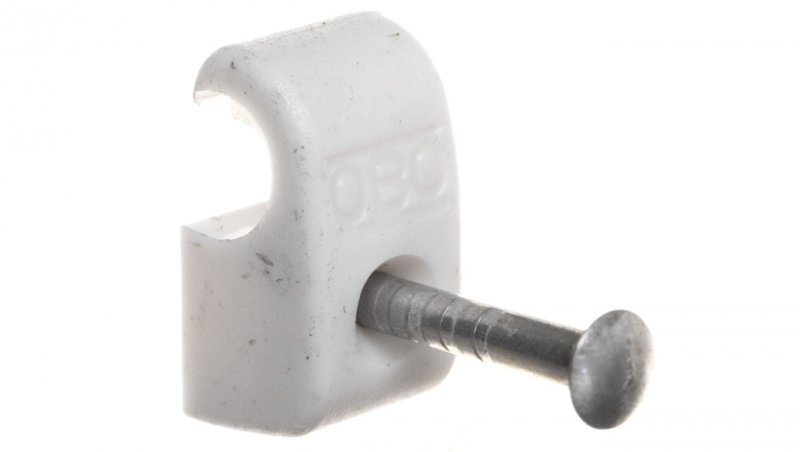 Uchwyt do kabli /4-7mm/ z gwoździem 2x18mm 2025 18 LGR 2228610 /100szt./