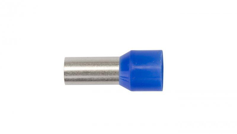 Końcówka tulejkowa izolowana TI 16mm2/12mm niebieska cynowana TI16L12 /100szt./