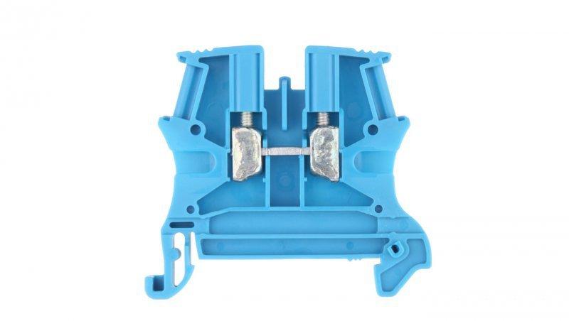 Legrand Złączka szynowa 2-przewodowa 4mm2 niebieska 037101
