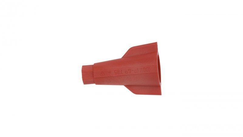 Złączka skrętna uniwersalna 1-6mm2 ZSE 1-1.0/6.0 czerwona 43814201 /100szt./