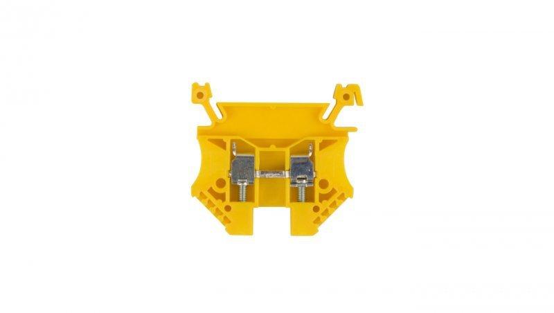 Złączka szynowa 2-przewodowa 4mm2 żółta EURO 43409N