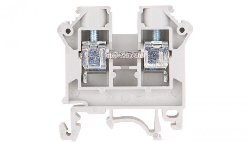 Złączka szynowa 2-przewodowa 10mm2 szara NOWA ZSG 1-10.0Ns 11521312