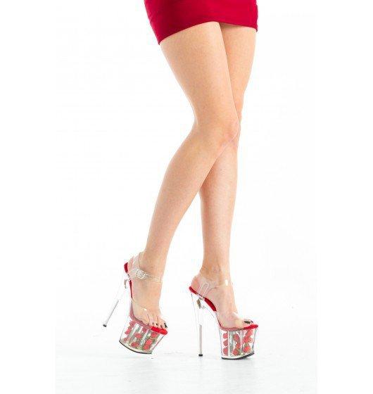 Roxie Luve - SLB-005 czerwone 40