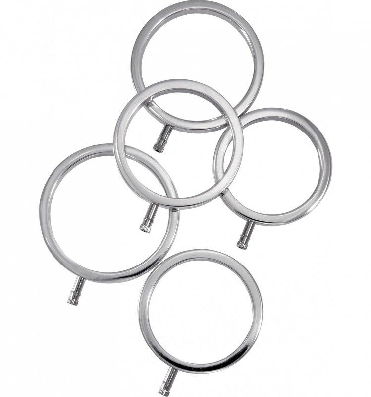 Zestaw pierścieni do elektrostymulacji (5 szt.)