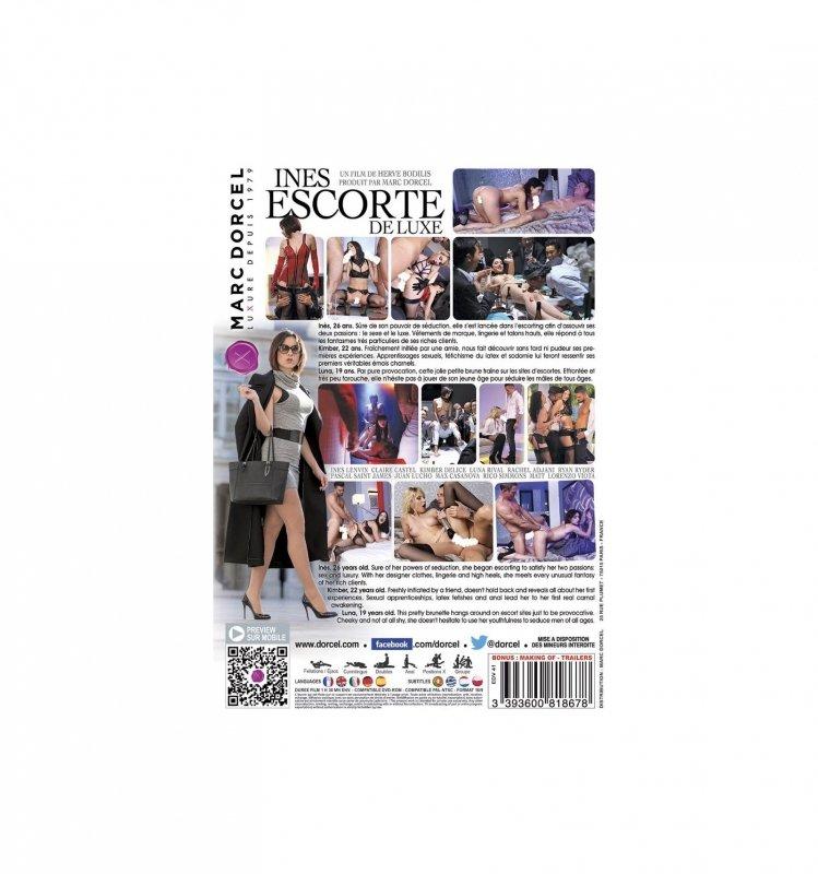 DVD Dorcel - Ines, Deluxe Escorte