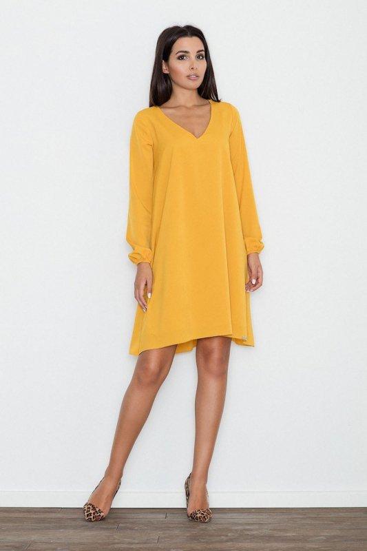 Sukienka Model M566 Yellow - Figl