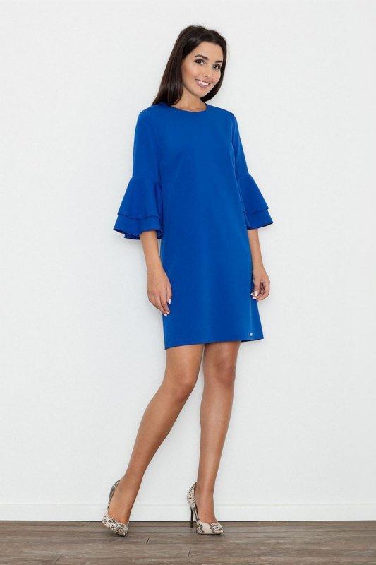 Sukienka Model M564 Blue - Figl
