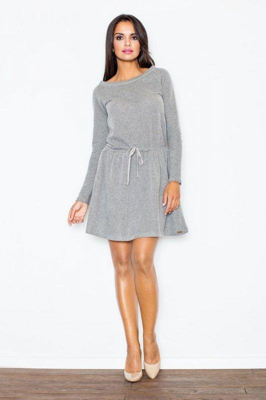 Sukienka Model 334 Dark Grey - Figl