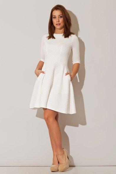 Sukienka Model 235 Ecru - Figl