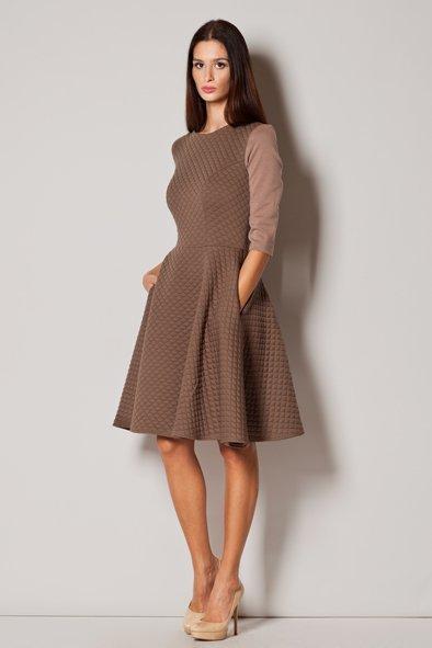 Sukienka Model 235 Beige - Figl