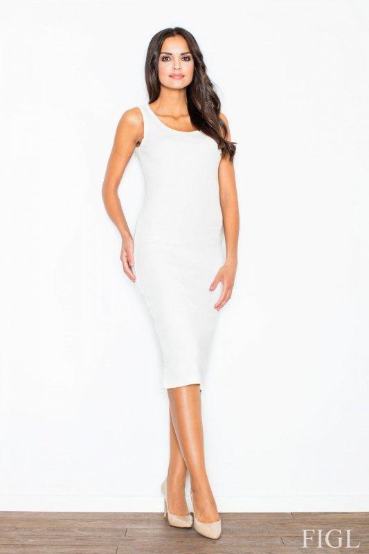 Sukienka Model M282 Ecru - Figl