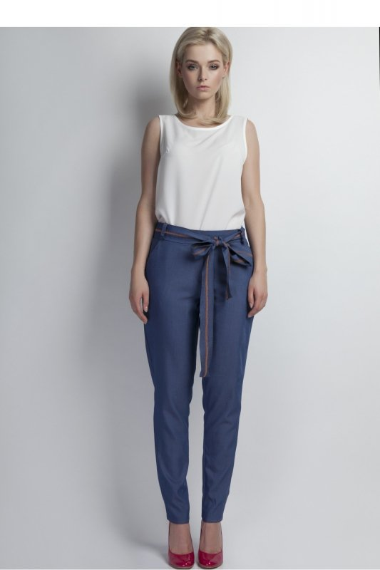 Spodnie Damskie Model SD 110 Jeans - Lanti