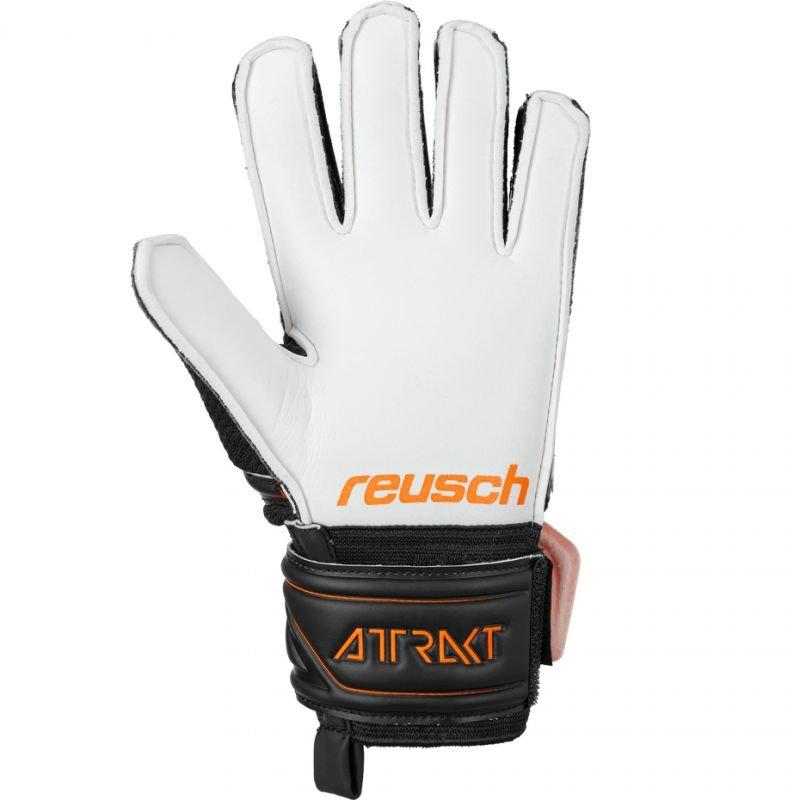 Rękawice bramkarskie Reusch Attrakt SG Junior 5072815 7783