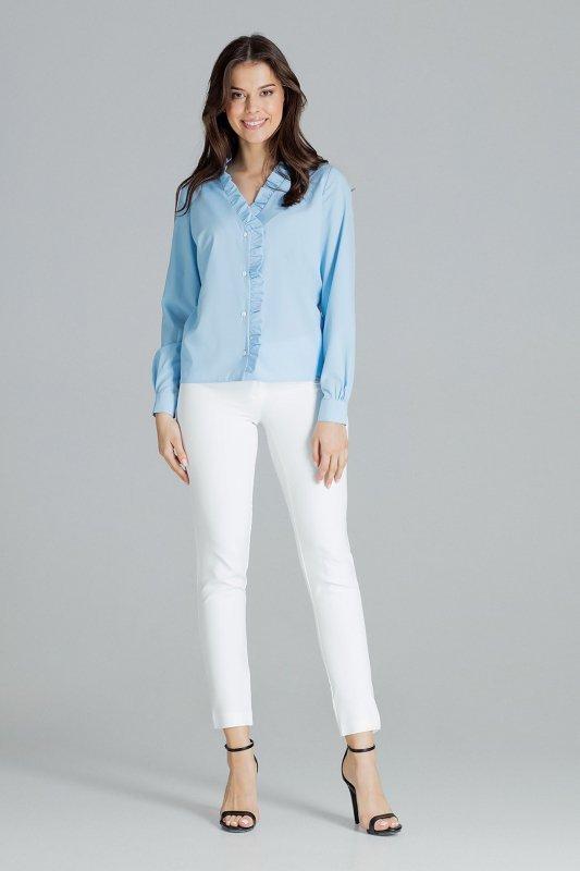 Bluzka L077 Niebieski S