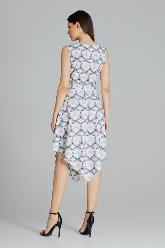 Sukienka L080 Wzór 113 S