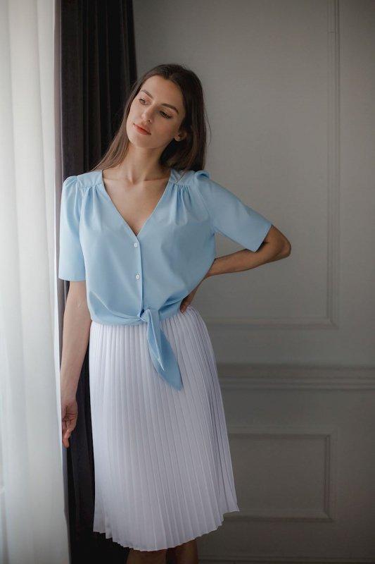 Bluzka L081 Niebieski M