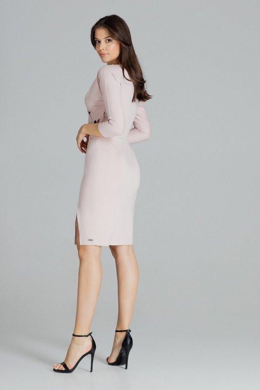 Sukienka L086 Róż M
