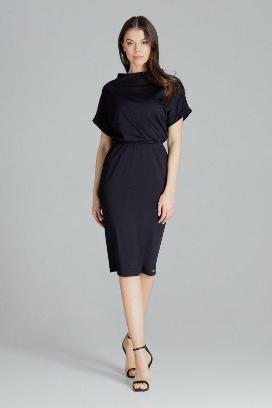 Sukienka L087 Czarny S