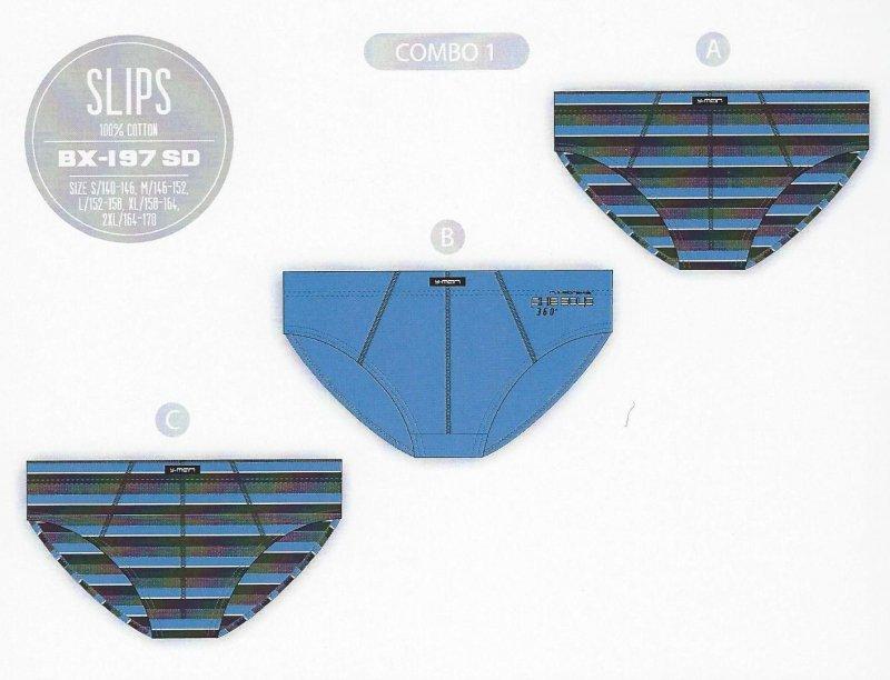 SLIPY CHŁOPIĘCE BX-197SD SALE