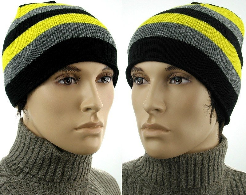 Męska kolorowa czapka CM06