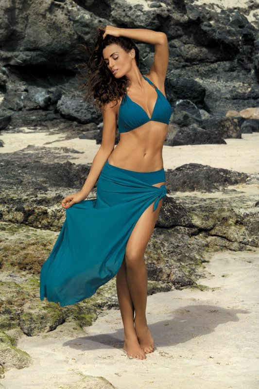 Kostium kąpielowy Lauren Camargue M-325 morska zieleń (79)
