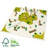 Drewniana układanka - Małe Miasto - milaniwood m² mini city