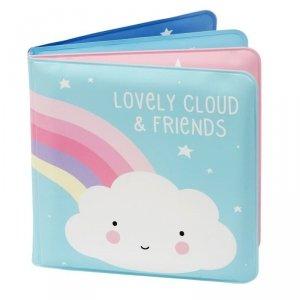 Książeczka dla dziecka do kąpieli -  Chmurka i Przyjaciele