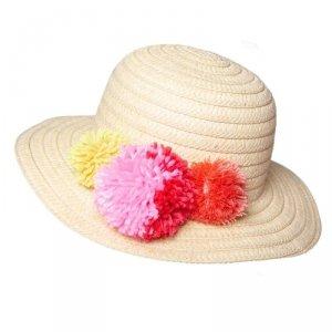 Rockahula Kids - kapelusz Pom Pom - 3-6 lat