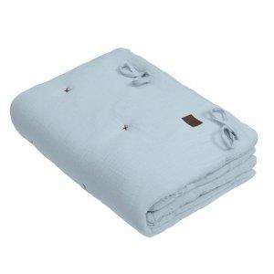 Hi Little One - zestaw kołderka z podusią/ rożek 2 w 1 BABY BLUE