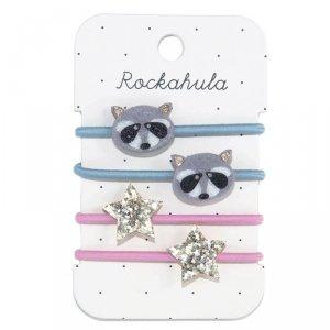 Rockahula Kids - gumki do włosów dla dziewczynki Ronnie Racoon