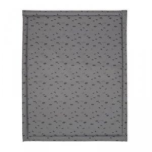 Mata wodoodporna do łóżeczka dziecka 75 x 95 cm Spot STORM GREY -Jollein