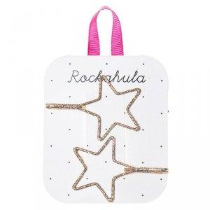 Rockahula Kids - wsuwki do włosów dla dziewczynki Starry Cut out Glitter Gold