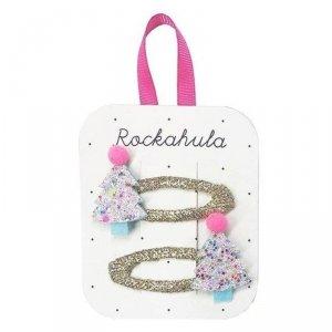Rockahula Kids - spinki do włosów dla dziewczynki Tutti Frutti Xmas Tree