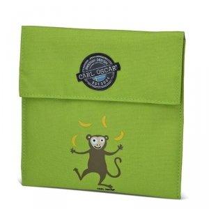 Torebka termiczna na kanapki Lime - Małpka