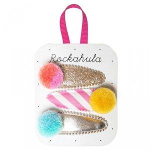Spinki do włosów dla dziewczynki - Pomponiki - Rockahula Kids