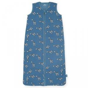 Śpiworek niemowlęcy letni Summer ŻYRAFKI Jeans Blue 70 cm - Jollein