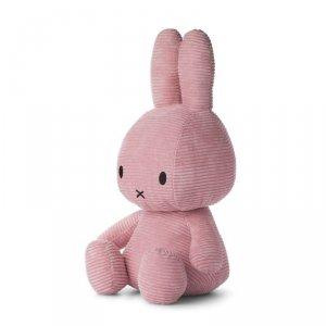 Sztruksowy różowy Królik przytulanka 50 cm - Miffy