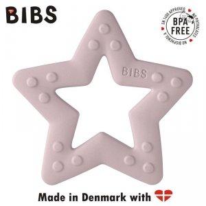 Gryzak dla niemowlaka w kształcie Gwiazdki - Pink Plum - BIBS BABY BITIE STAR