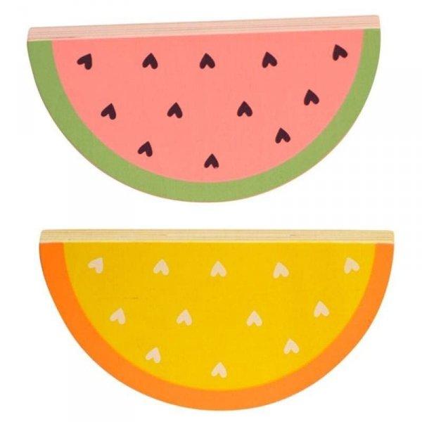 Klocki Arbuz i Pomarańcza